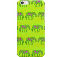 Spotted psychedelic horses iPhone Case/Skin