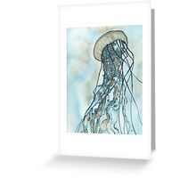 Jellyfish Three Greeting Card