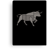 Tough Bull Canvas Print