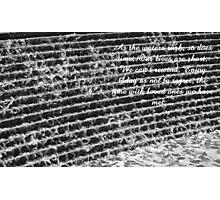 Waters rush Photographic Print