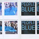 People in Blue #2 by Pascale Baud
