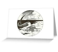 Dead Mermaid Greeting Card