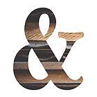Rustic Ampersand by Maren Misner