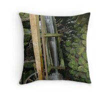 Alfred Reagan's Mill Throw Pillow