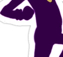 It's purple guy, and he's dank, yo Sticker