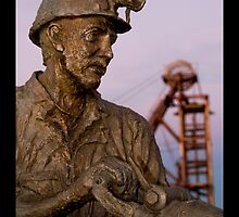 Miners Memorial by Mark Ingram