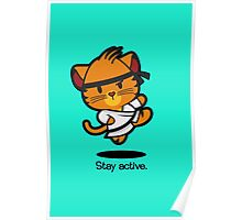 Farm Babies - Stay active Poster