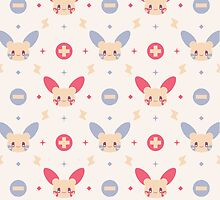 Plusle & Minun by amisi