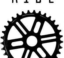 Ride your bike, wear your shirt by mmdesigns