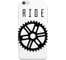 Ride your bike, wear your shirt iPhone Case/Skin