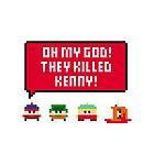 Pixel South Park - They Killed Kenny by Sergey Vozika