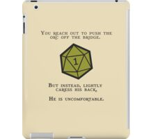 Natural 1 - Orc iPad Case/Skin