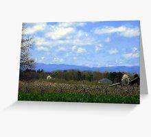 North Carolina's Majestic Mountains Greeting Card