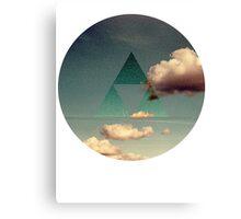 Triforce Clouds Canvas Print