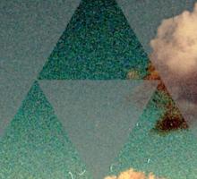 Triforce Clouds Sticker