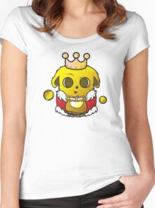 king wabbinton the third Women's Fitted Scoop T-Shirt