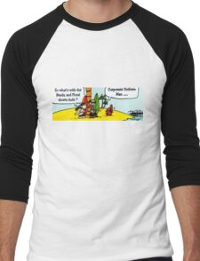 CORPORATE UNIFORM Men's Baseball ¾ T-Shirt