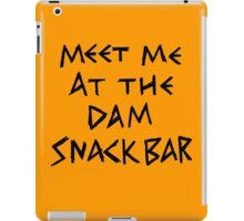The Dam Snack Bar iPad Case/Skin