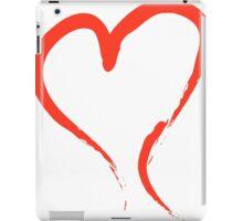 happy valentines day vintage old school love iPad Case/Skin
