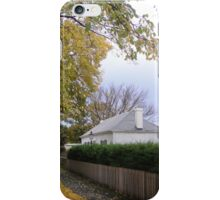 Mrs Keach's Cottage in Autumn, Ross iPhone Case/Skin