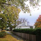 Mrs Keach's Cottage in Autumn, Ross by Wendy Dyer