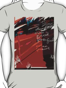 'Over-priced, Gentrified Urban Scrawl #2' T-Shirt