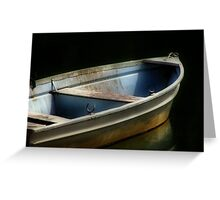 Row, row, row your boat Greeting Card