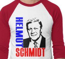 Helmut Schmidt Men's Baseball ¾ T-Shirt