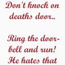 Death's Door by vampibunni