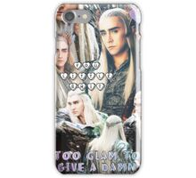thranduil collage iPhone Case/Skin