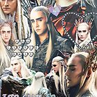 thranduil collage by cocosuspenders