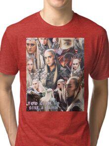 thranduil collage Tri-blend T-Shirt
