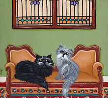 The Persian Cat Room by Ryan Conners