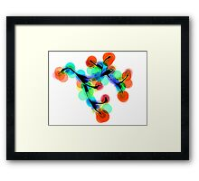 Impossible Cherries Framed Print