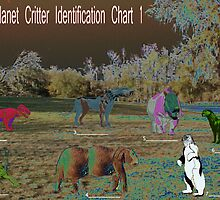 Living Planet Critter Identification Chart 1 by richardredhawk