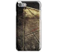 Posterized Pavement iPhone Case/Skin