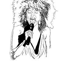 Tina Turner by Snockard