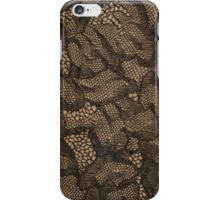 Sexy Black Lace iPhone Case/Skin