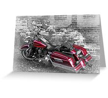 Luuezz's Motorcycle RoadKing 1995 Greeting Card