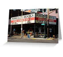 Powell's City of Books Greeting Card