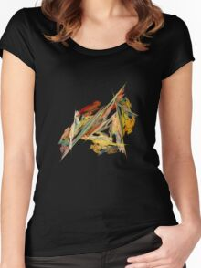 Dance Of The Triangles Tee Women's Fitted Scoop T-Shirt