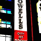Powell's City of Books Sign by AmishElectricCo