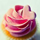 Single Pink cupcake by BriGt