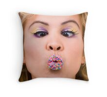 Freckles... Throw Pillow