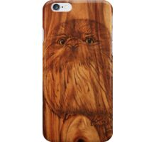 PYROGRAPHY: Young Tawny Frogmouth iPhone Case/Skin