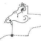 Petits Dessins Debiles - Small Weak Drawings#34 by Pascale Baud