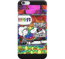 snoopy's notes iPhone Case/Skin