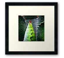 Spring Swirlings 9 Framed Print