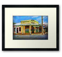 Beechworth Ice Creamery Framed Print