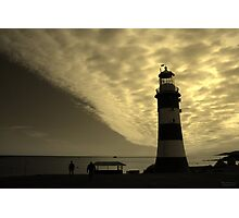 Plymouth Gold Photographic Print